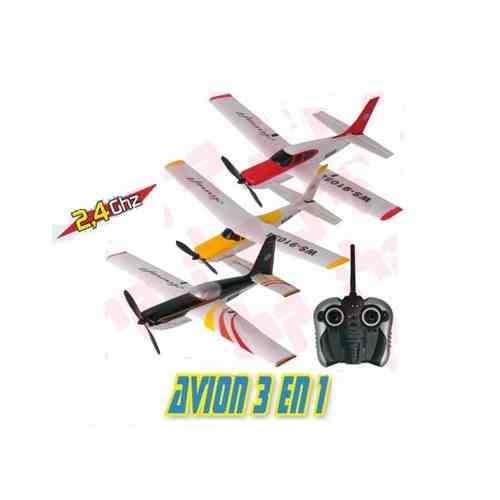 69105 / STUNT FLYING AIRPLANE 3 EN 1 2,4GHZ