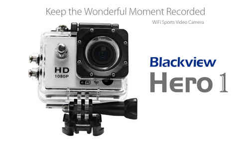 Blackview Hero 1 WIFI 2 inch Screen AMB A7LS75 Chipset Sports Video Camera Camcorder 1
