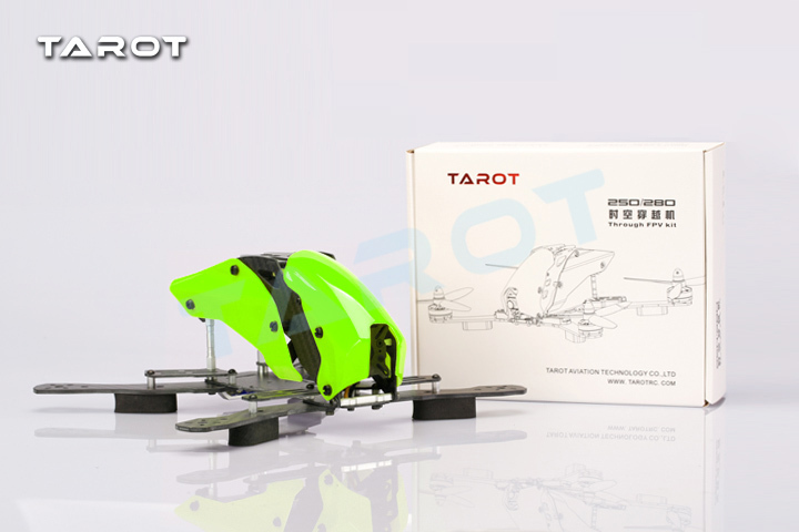 Tarot 250 250mm 4-Axis Half Carbon Fiber Quadcopter Frame with Landing Gear  for FPV TL250H