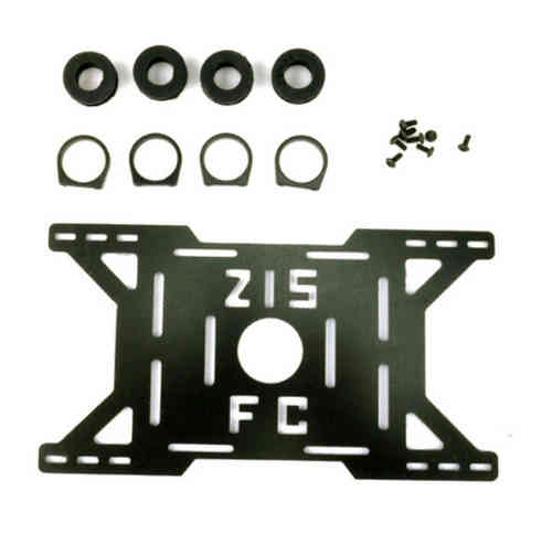 Shock Absorbing Glassy Carbon Battery Mounting Plate for DJI S800