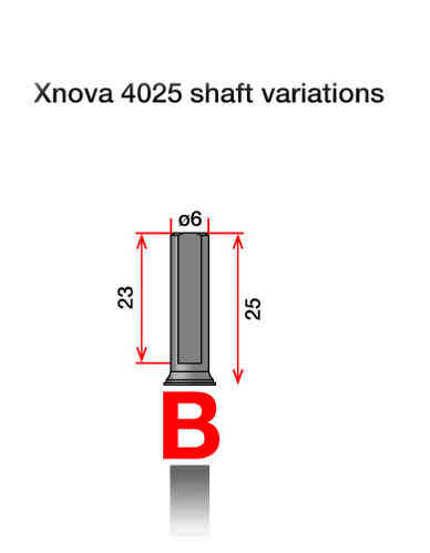 Xnova Motor Shaft 4025 Type B