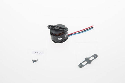 S900-Part21 4114 Motor with black Prop cover