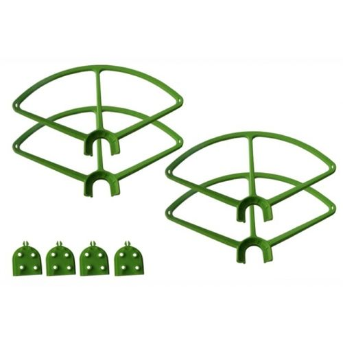 Quick release Prop Guard for DJI Phantom 3 GREEN