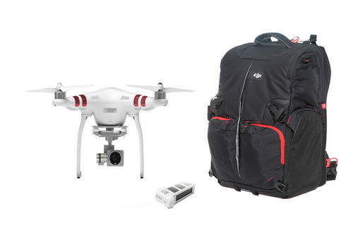 Phantom 3 Standard con bateria extra y Phantom Backpack