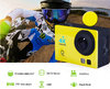 ac3H-1(4K+RF+Night Vision) Sports action camera Yellow