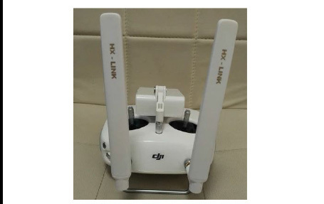 Newest Ultra Long Range Extended Range 3.5km Directional Antenna set for DJI P3A/P3P--White