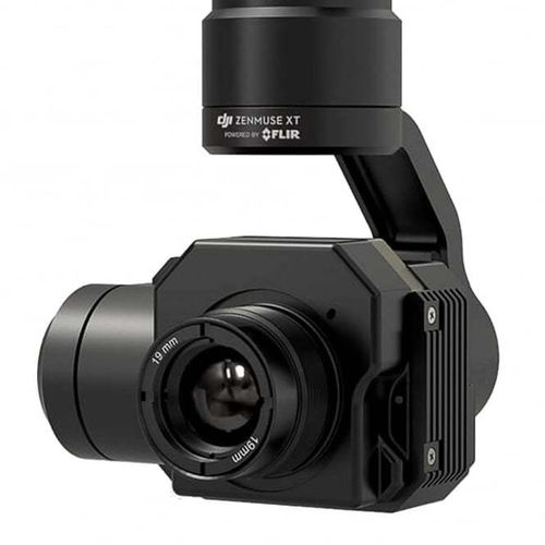 DJI Zenmuse XT FLIR Thermal Camera - 9hz 336 x 256 Resolution 6.8 mm lens