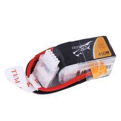 TATTU 450mAh 14.8V 75C 4S1P Lipo Battery Pack XT30