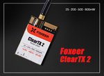 Foxeer ClearTX 2 5.8G 48CH 25/200/500/800mW Remote Control VTx(antenna is excluded)